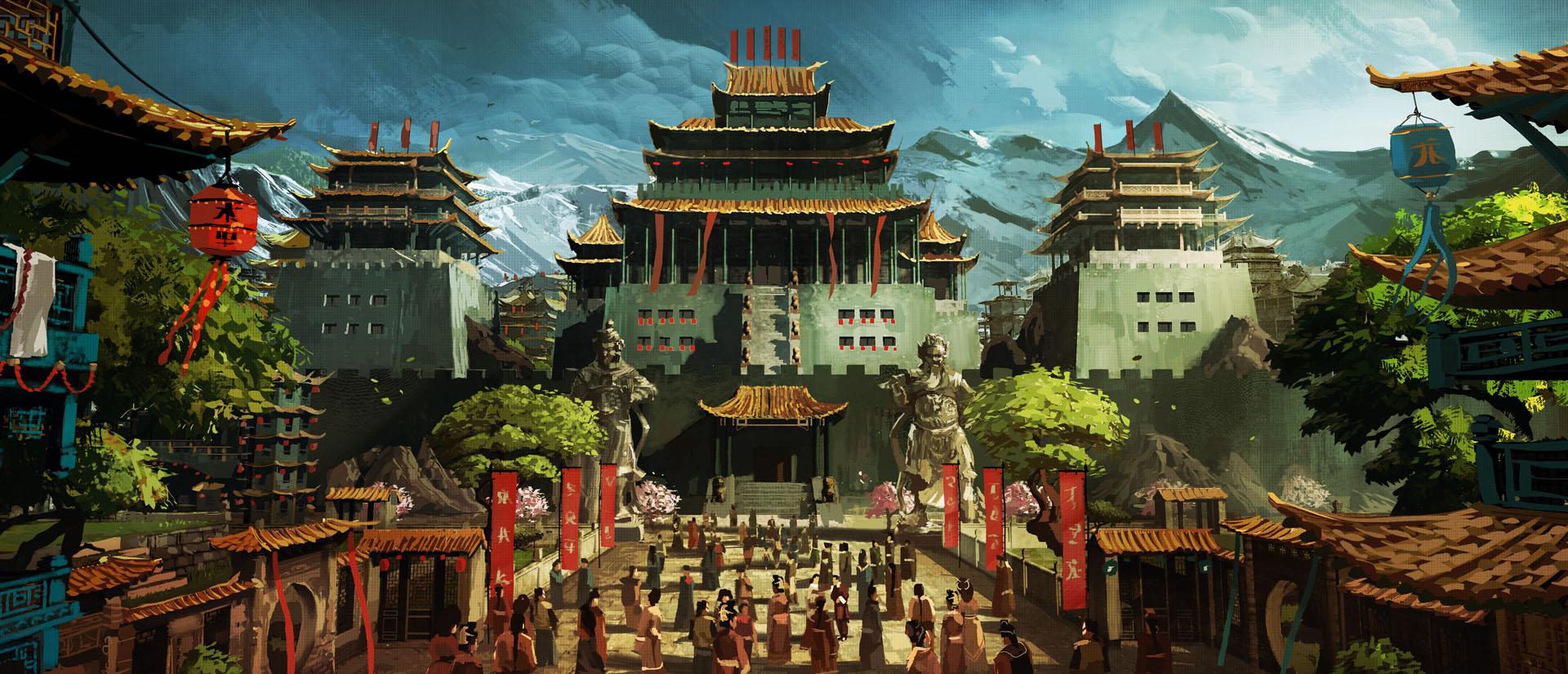 Temple in Ping, Mandala